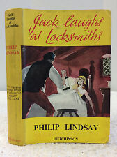 JACK LAUGHS AT LOCKSMITHS By Philip Lindsay - 1951 - historical fiction, England