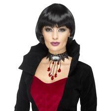 Gothic Vampiress Choker Neckpiece Halloween Costume Jewellery Accessory