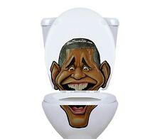 Barack Obama Toilet Lid Decal / Sticker set by BowlFacedLiar.com
