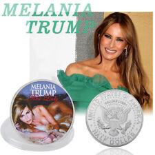 WR Melania Trump Amerikanische First Lady Silbermünze Gedenkmünze US Half Dollar