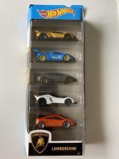 Hot Wheels Lamborghini Car Set - 5 Pieces - Brand New - Free Postage!!