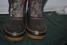 Crater Ridge Camo Size 7 Men's Outdoor Waterproof Boots