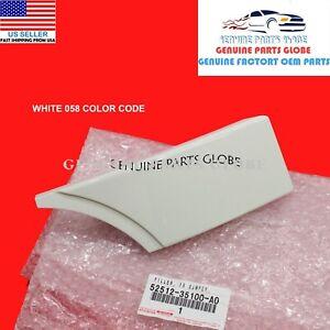 GENUINE TOYOTA FJ CRUISER WHITE RIGHT FRONT BUMPER COVER FILLER 52512-35100-A0