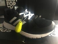 Adidas Adults Duramo 8 Trainers Running Shoes Black/White Size UK 6 EUR 39.3