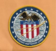 WILLABEE & WARD OFFICIAL SPACE PATCH APOLLO 16 YOUNG , MATTINGLY , DUKE  4""