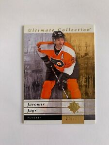 2011-12 Ultimate Collection #44 Jaromir Jagr 278/399 - Philadelphia Flyers