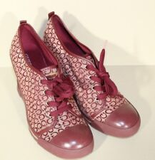 Guess Womens Shoe Size 10 US / 42 EUR Red Fashion Wedge Heel Sneakers