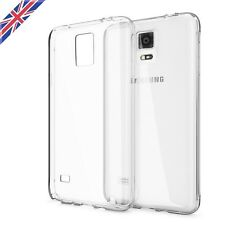Crystal Clear Thin Transparent Case Cover Soft TPU for Samsung Galaxy Note 4 UK