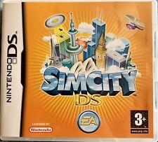 Sim City. Nintendo DS. Manual included.