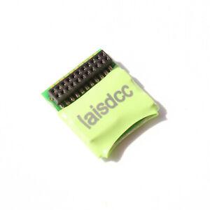 Laisdcc 860019 motor + 4 Function DCC Decoder onboard MTC 21-Pin Plug. UK Stock