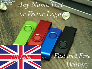 Personalised High Speed USB Memory Stick Pen Thumb Flash Drive Pen Thumb 16GB St
