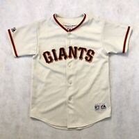 VINTAGE Majestic Youth Barry Bonds San Francisco Giants Jersey Stitched Medium