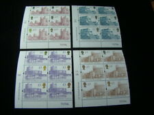 Great Britain Scott #1446a-1448a Set Plate # Blocks Of 6 Mnh O.G. $690.75 Scv
