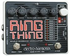 EHX Electro Harmonix RING THING Modulator Guitar Effects Pedal