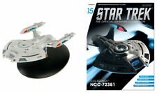 Star Trek Voyager USS Equinox NCC-72381 Ship & Magazine #15 Eaglemoss - New