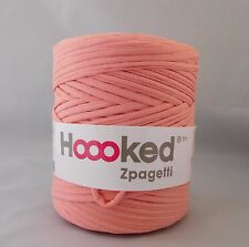 Hoooked Zpagetti T-Shirt Jersey Hilo 120m hacer Punto Lana salmón melocotón claro/