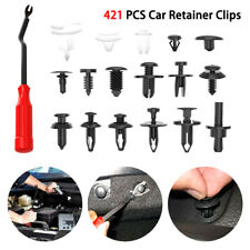 421pcs Car Body Push Pin Rivet Trim Panel Fastener Clip Moulding Assortment+Tool
