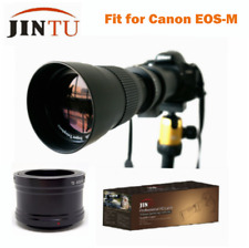 420-800mm F/8.3-16 Telephoto Manual Zoom Lens T-Mount for Canon EOS M M1 M2 M3
