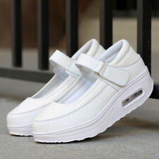 Nursing Shoes Women Sport Casual Platform Sneakers Athletic Mary Janes Pumps New