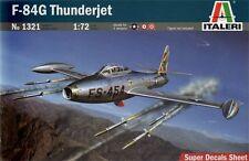 Italeri 1/72 SF-84G Thunderjet Model Kit 1321