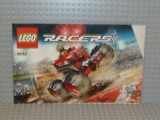 LEGO® Racers Bauanleitung 9092 Crazy Demon ungelocht instruction B1980