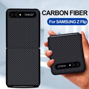 100% Real Aramid Carbon Fiber Case Ultra Slim Cover For Samsung Galaxy Z Flip 5G