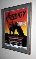 The Prodigy - framed original gig promotional poster from 2015