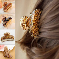 Wholesale Job Lot 12 x Leopard Womens Girls Hair Clips Claws Hair Accessory
