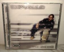 CD DEVILLE - YOU ONLY LIVE ONCE - SEALED SIGILLATO