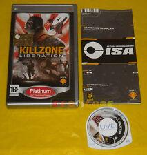 KILLZONE LIBERATION Psp Versione Ufficiale Italiana Platinum »»»»» COMPLETO
