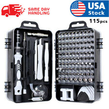 usa magnetic screwdriver bit set for iphone/macbook tool kit set 117pcs