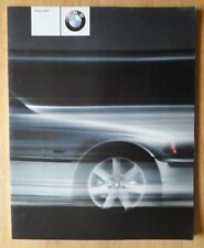 BMW RANGE 1999 2000 UK Mkt Prestige Brochure - 3 5 7 Series M Coupe Z8 M3 M5 Z3