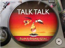 "Talk Talk - Such A Shame (Live) Mega Rare 12"" Picture Disc Maxi Single LP NM"