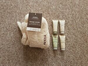 new aveda certified organic cotton hair treatment wrap gift set