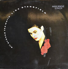 """LISA STANSFIELD - ALL AROUND THE WORLD 12"""" MAXI LP (R96)"""
