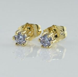 """Gift Pouch 9ct 9k Yellow//Rose /""""GOLD FILLED/"""" Ladies Heart Small  Earrings 35mm"""