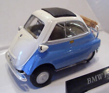 CARARAMA 251ND-007 BMW Isetta 250 Bubble Car Blue/White 1/43 Scale New Boxed T48