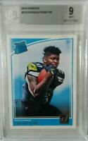 2018 Donruss Rashaad Penny Rated Rookie #318 BGS 9 Mint Seattle Seahawks hot rc