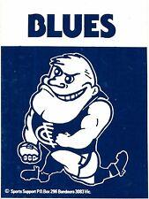 1982 Carlton Blues Football Club Sticker Decal