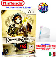 PUZZLE QUEST Wii NUOVO VERSIONE ITALIANA NINTENDO Wii