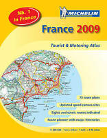 (Good)-MOT Atlas France 2009 (Michelin Tourist & Motoring Atlases) (Michelin Tou