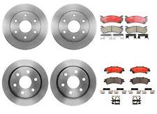 Brembo Front Rear Brake Kit Disc Rotors Ceramic Pad For Astro Tahoe Safari Yukon