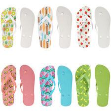 Women Summer Fruit Bathroom Rubber Slippers Flip Flops Beach Shoes Thong sandals