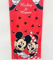 minnie mickey couple cotton bathing towel kids swimming towels cartoon new