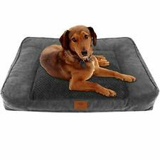 Orthopedic Dog Bed Portable Ultra Plush Memory Foam Durable Bed w/Removable Cove