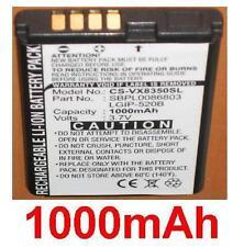 Batterie 1000mAh type LGIP-320R LGIP-520B SBPL0086803 Pour LG VX8350