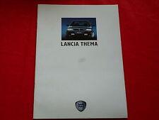 LANCIA Thema i.e. 16V i.e. V6 8.32 Station Wagon 16V Prospekt von 1989