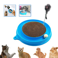 Cat Toy Turbo Post Pad Interactive Training Exercise Mouse Play with and Ball