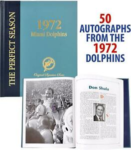 Dolphins Signed Coffee Table Book - Fanatics