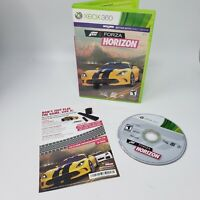 Forza Horizon (Microsoft Xbox 360, 2014) Tested and Working Great Condition